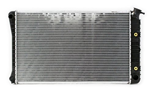 Radiator - Pacific Best Inc For/Fit 709 81-91 Chevrolet GMC Van 83-87 Pickup 82-91 Blazer Jimmy Suburban PTAC 1 Row