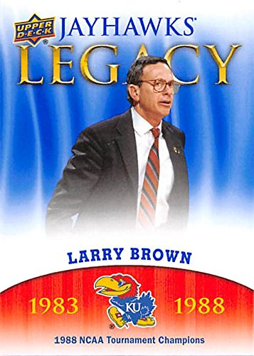 - Larry Brown Basketball Card (Kansas Jayhawks, 1988 NCAA Champions) 2013 Upper Deck Legacy #JL-16