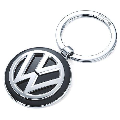 troika-vw-volkswagen-keyring-kr16-05-vw-keyring-vw-logo-additionally-1-keyring-cast-metal-shiny-chro