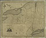 Historic 1804 Map | A map of the State of New York | New York (State)Maps of New York City and State |