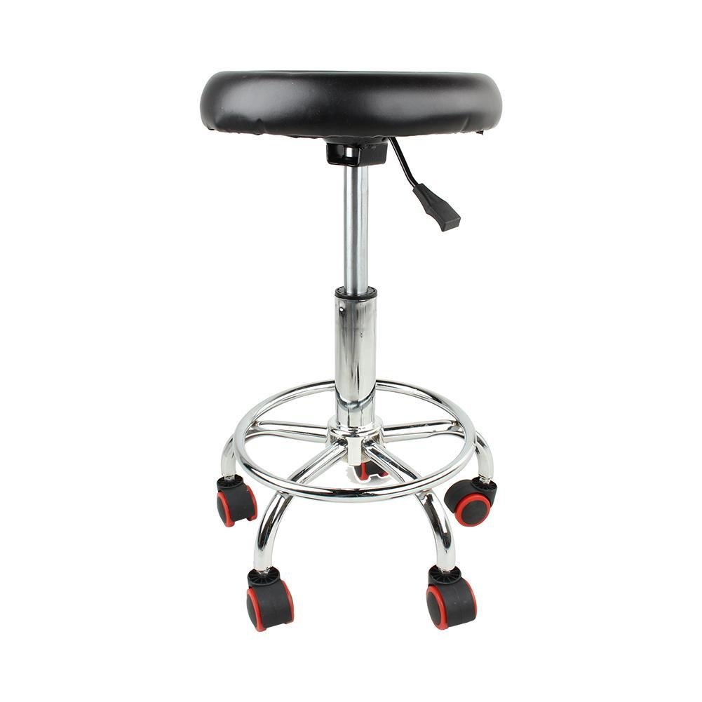 Rolling Swivel Stool Chair,Adjustable Hydraulic Rolling Swivel Stool Chair Salon Spa Tattoo Facial Massage 360 Degree Rotation Work Chair