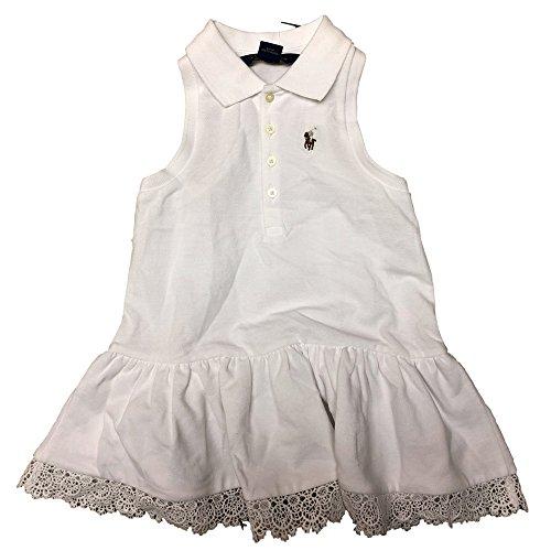 (Polo Ralph Lauren Little Girl's Stripe Sleeveless Dress (4/4T))