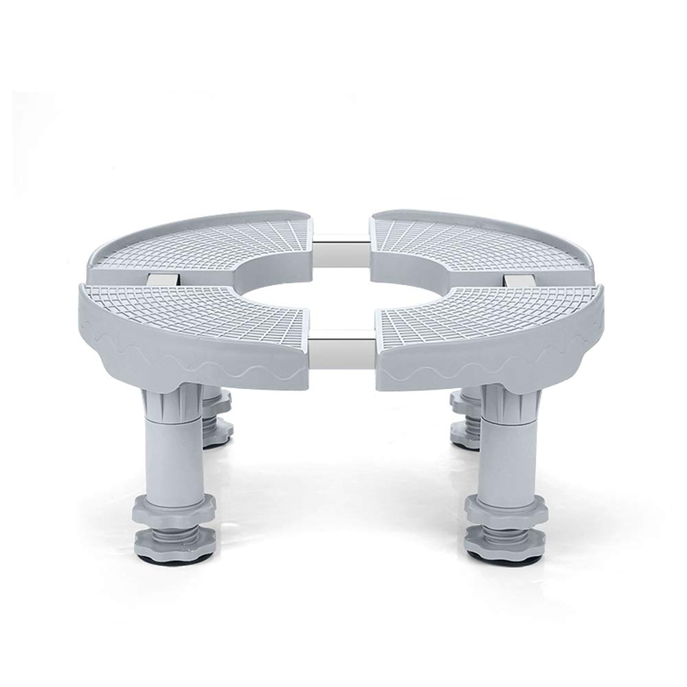 LUCIAN YX-H1 Round Shape Multi-functions Mobile Base 4 Feet Extra Height Adjustable for Vertical Refrigerator LUCIAN HOME APPLICATIONS ltd