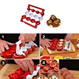 Easyinsmile Cooking Tools Meatballs Maker Plastic Meatball Press Mold for Home Make Meat Balls Fish Balls