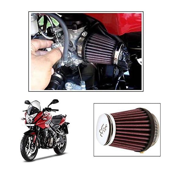 Vheelocityin K&N RC 1060 Air Filter Universal for All Bikes for Bajaj Pulsar Rs 200 Pulsar As 200-150