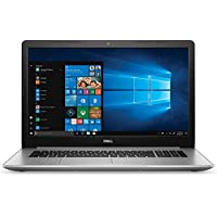 Dell Inspiron 17 5000 Series 5770 17.3 Full HD Laptop - 8th Gen Intel Core i7-8550U Processor up to 4.0 GHz, 8GB Memory, 256GB SSD + 2TB HDD, 4GB AMD Radeon 530 Graphics, Windows 10 Pro, Silver