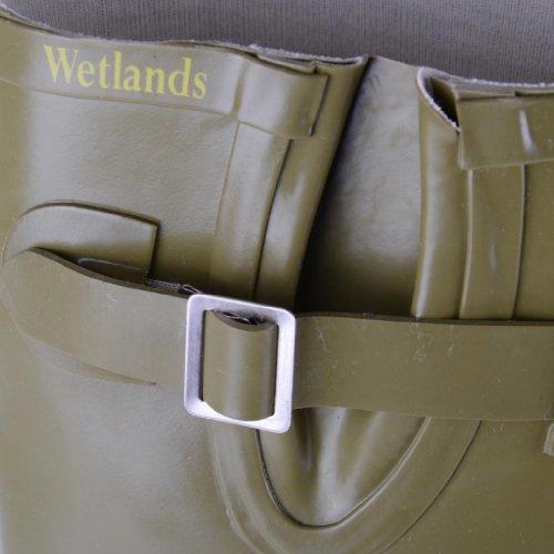 Footwear Sensation - Botas de agua de sintético mujer verde - caqui