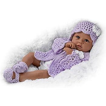 "18"" Linda Murray Tiana Goes To Grandma's Lifelike African-American Baby Girl Doll by The Ashton-Drake Galleries"