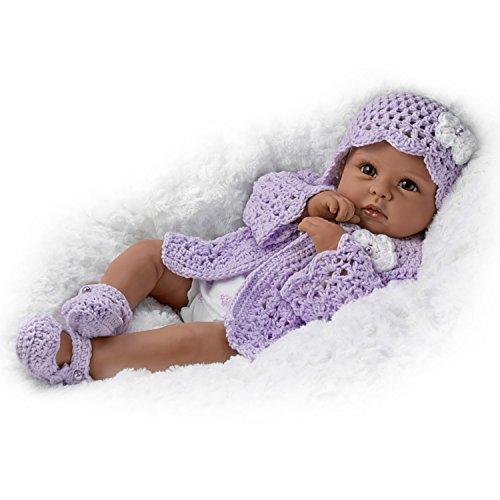 "Search : 18"" Linda Murray Tiana Goes To Grandma's Lifelike African-American Baby Girl Doll by The Ashton-Drake Galleries"