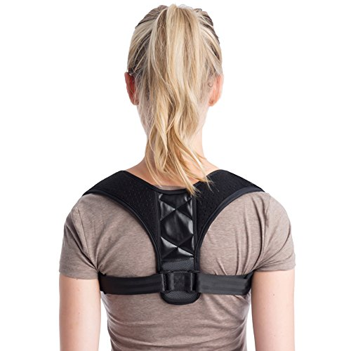 Posture Corrector Back Brace for Women & Man Clavicle Upper Back Straighten for Slouching & Hunching Helps Improve Posture Soft Belt Design Comfortable and Adjustable by ZingPro