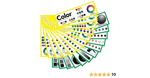 Elementos de arte: Color Y Valor 5 x 16 carteles (25 unidades)