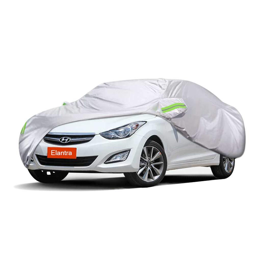 車のカバー ヒュンダイElantra車のカバー車の服厚いオックスフォード布日焼け防止雨カバー車の布カーカバー車のカバー (サイズ さいず : 2016) 2016  B07MV7LV6T