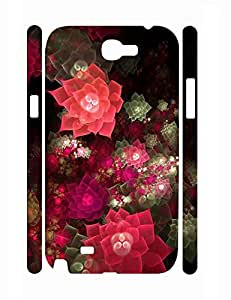 Funky Personalized Girly Neon Flower Super Smooth Phone Dust Proof Case for Samsung Galaxy Note 2 N7100