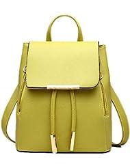 Forlisea Womens Girl Preppy Style School Backpack Primary Bookbag Shoulder Bag