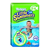 Huggies Little Swimmers Disposable Swimpants (Packaging  May Vary), Small, 12-Count (Pack of 2)