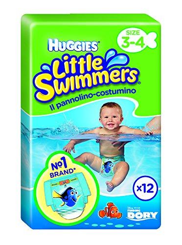 Huggies 12 Little Swimmers - Schwimmwindeln, 2er Pack (2 x 12 Stück)