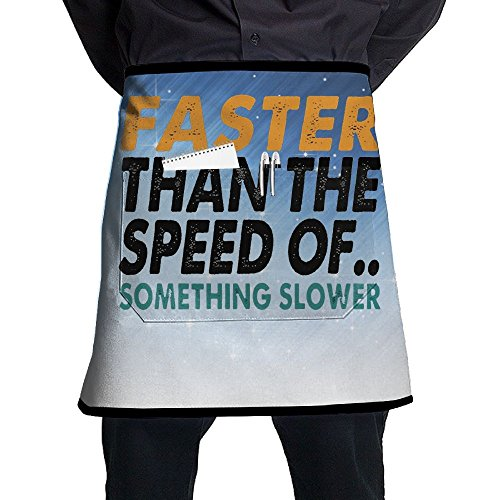 Speed 11 Bib (XiHuan Grill Aprons Kitchen Chef Bib Faster Than The Speed Of Professional For BBQ Baking Cooking For Men Women Pockets)