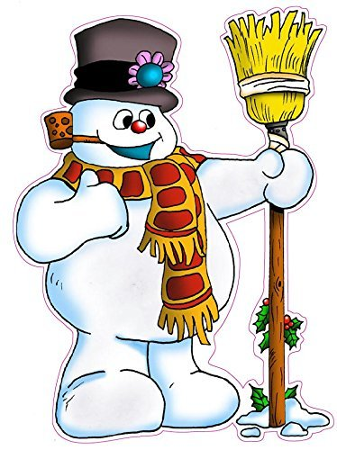 Nostalgia Decals Christmas and Holiday Wall Decor Decal Frosty the Snowman Small 16