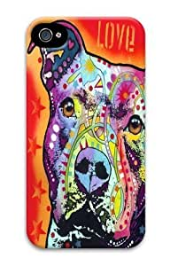 For Case HTC One M8 Covers & Covers -Thoughtful Pitbull LoveFront Custom PC Hard For Case HTC One M8 CoverD