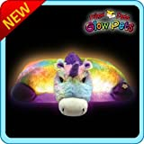 Pillow Pets Glow Pets Rainbow Unicorn 18""