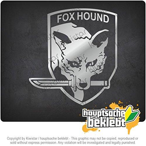 Hound Bumper Sticker (Fox Hound 4,3