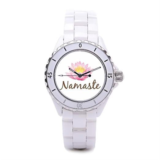 Namaste deportes relojes LOTUS comprar relojes en línea Flor Moda Relojes: Amazon.es: Relojes