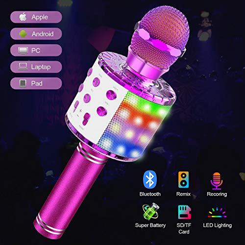 Wireless Bluetooth Karaoke Microphone Machine
