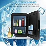 Yeslike Mini Fridge 4 Liter/6 Can Portable AC/DC