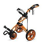 Clicgear Rovic RV3J Push Cart, Orange