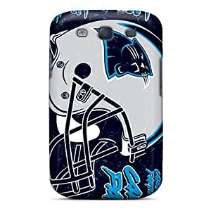 Best Hard Phone Covers For Samsung Galaxy S3 (iXR8769Rgse) Customized Fashion Carolina Panthers Pictures