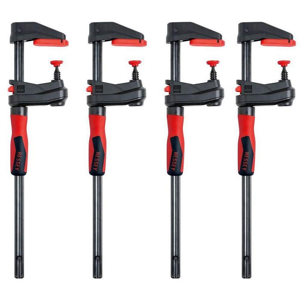 BESSEY GK45 18'' GearKlamp 4-PK - Unique Clamping Solution for Tight Spaces