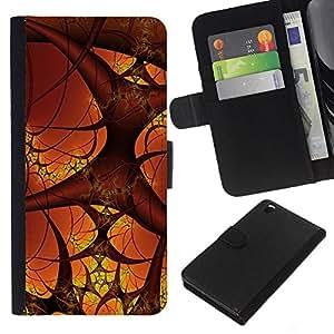 - ART HUMAN BLOOD BODY COSMOS MICRO VESSELS - - Prima caja de la PU billetera de cuero con ranuras para tarjetas, efectivo desmontable correa para l Funny House FOR HTC DESIRE 816