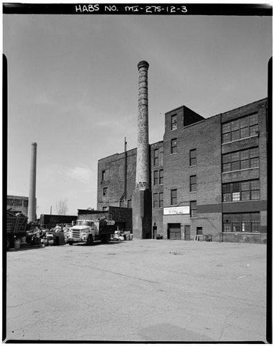 HistoricalFindings Photo: Fisher Body Company Plant,1961 East Milwaukee Avenue,Detroit,Michigan,MI,HABS,2
