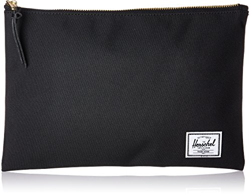 Mens Large Pouch - Herschel Supply Co. Men's Network Large Pouch, black, One Size