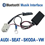 Receptor de Audio Bluetooth para VW, AUDI, SEAT, SKODA OEM Radio