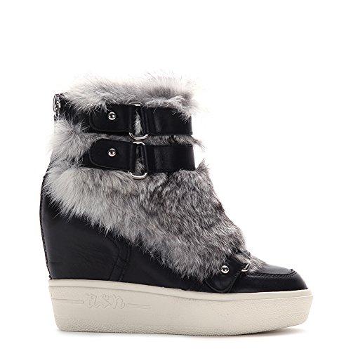Ash Women's Fashion Animal Sneakers 350594 Black SZ 35 by Ash (Image #1)