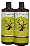 Cleansing Conditioner Base - Dr. Woods Pure Tea Tree Liquid Castile Soap, 32 Ounce (Pack of 2)