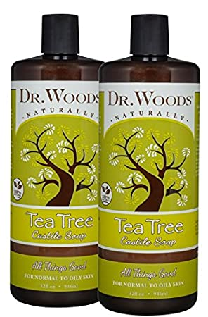 Dr. Woods Pure Castile Soap, Tea Tree, 32 Ounce Dr woods 2876