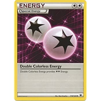 Pokemon - Double Colorless Energy (114/124) - XY Fates Collide