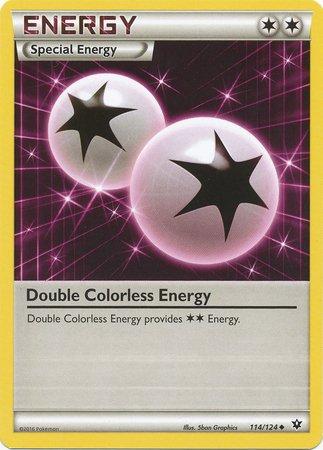 Pokemon - Double Colorless Energy (114/124) - XY Fates Collide
