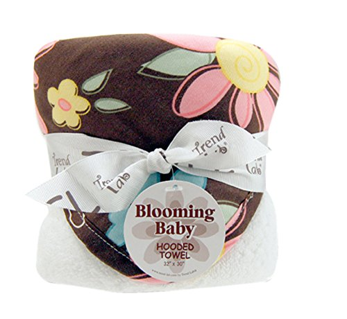 (Trend Lab Bouquet Hooded Towel - Blossoms)