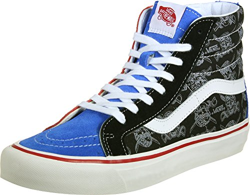 Vans SK8-HI 38 REISSUE (50TH) mens skateboarding-shoes VN-A2XS1JSO_13 - STV/MULTI - Custom Shop Reissue