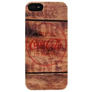 Coca Cola Hard iPhone 5 Case (Coke Wood)
