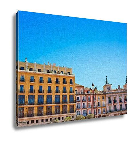 Ashley Canvas, Burgos Plaza Mayor Square In Castilla Leon Of Spain, Home Decoration Office, Ready to Hang, 20x25, AG5478745 by Ashley Canvas