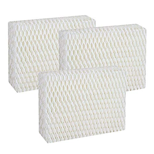 Mumaxun 3-pack Replacement Humidifier Wick Filters WF813 for Cool Mist Humidifiers fits ProCare PCCM-832N & Relion RCM-832N, Robitussin DH-832, Duracraft DH-830, Sesame Street SH100 & SH200