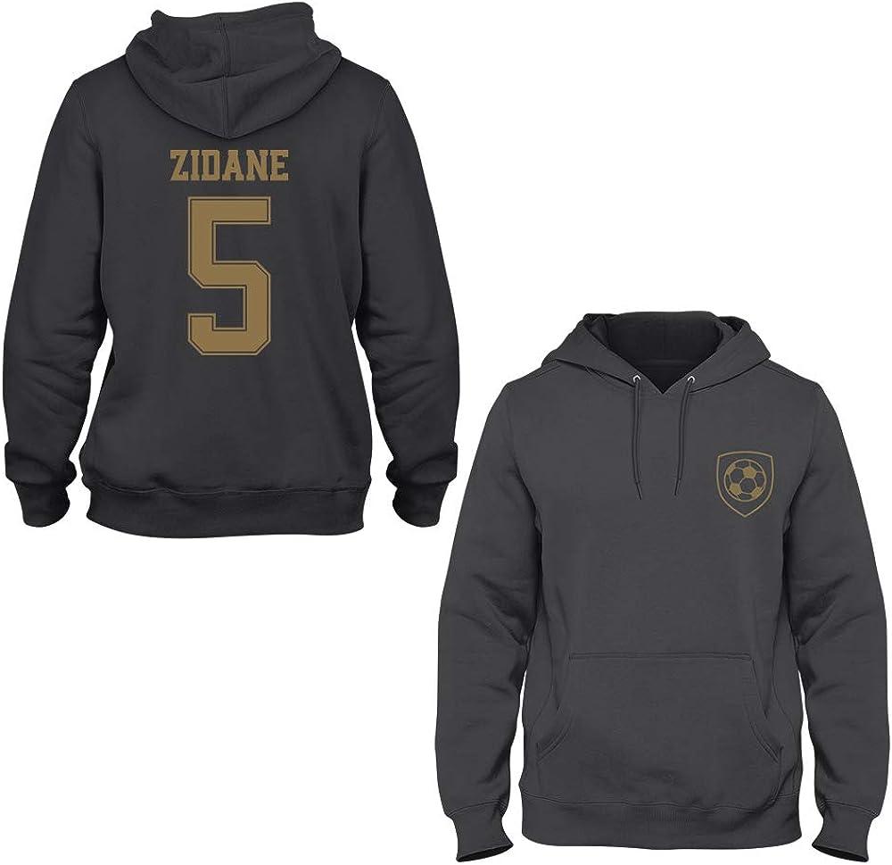 Zinedine Zidane 5 Real Madrid Player Hoodie