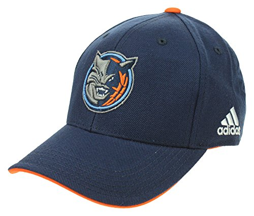 adidas NBA Youth's Charlotte Bobcats Basic Structured Adjustable Strap Cap, Navy One Size (Youth Boy's 8-20)