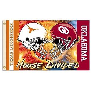 NCAA Texas Longhorns vs. Oklahoma Sooners 3-by-5 Foot Helmet Flag With Grommets (B004W3HJB4) | Amazon price tracker / tracking, Amazon price history charts, Amazon price watches, Amazon price drop alerts
