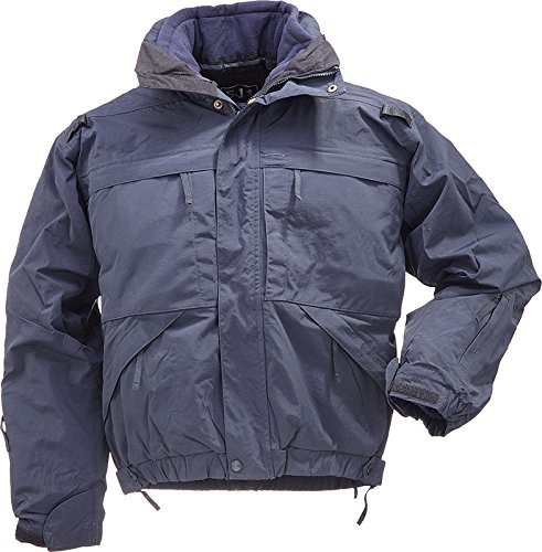 Patented Binding System (5.11 Tactical #48017 5-in-1 Jacket (Dark Navy, Large))