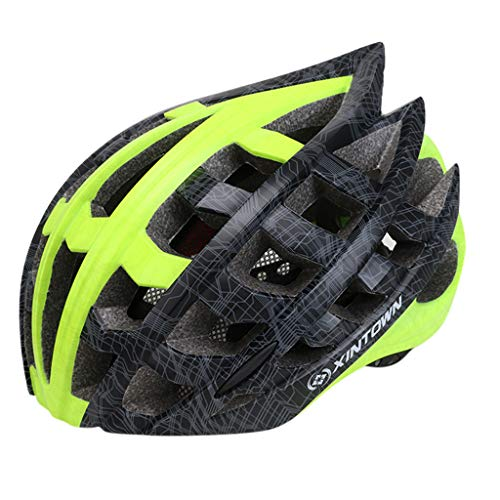 Price comparison product image Letdown_Knitting Hats Light Bicycle Helmet Men&Women Road and Mountain Bicycle Helmet Autumn Winter Fashion 2019